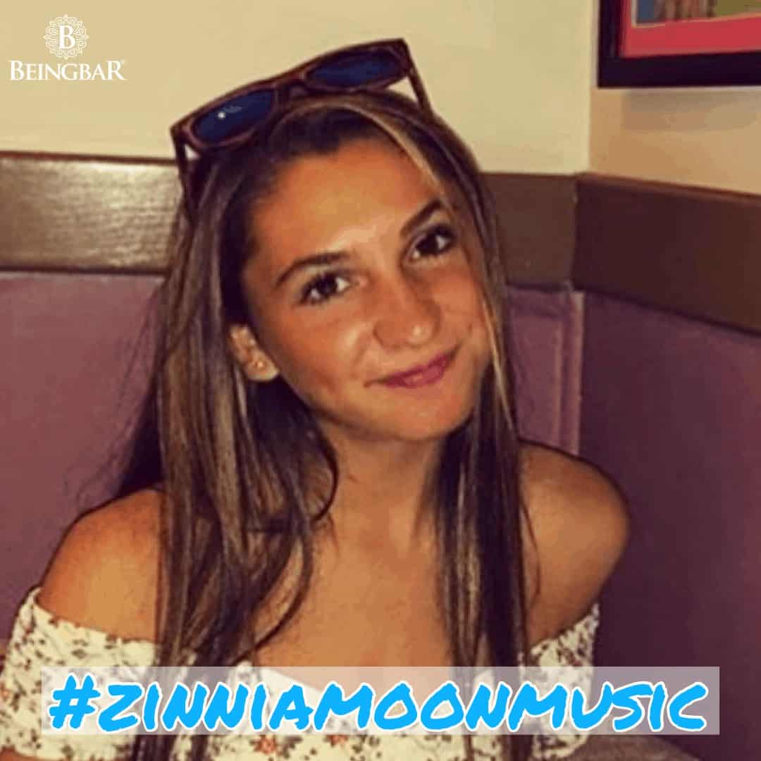Zinnia Moon wearing Beingbar Sunglasses