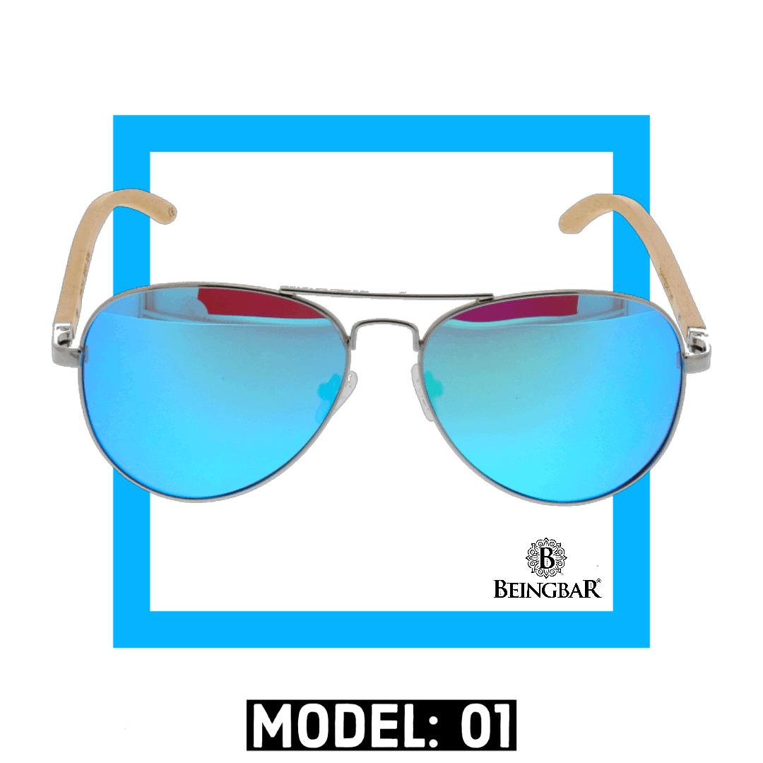 BEINGBAR Sun Eyewear Model 1 Conscious and Sustainable Sunglasses