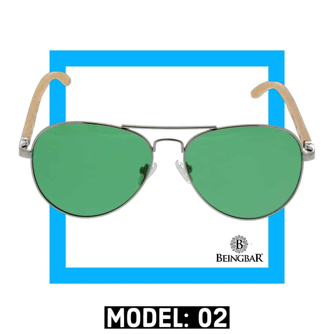 BEINGBAR Sun Eyewear Model 1 Conscious and Sustainable Sunglasses