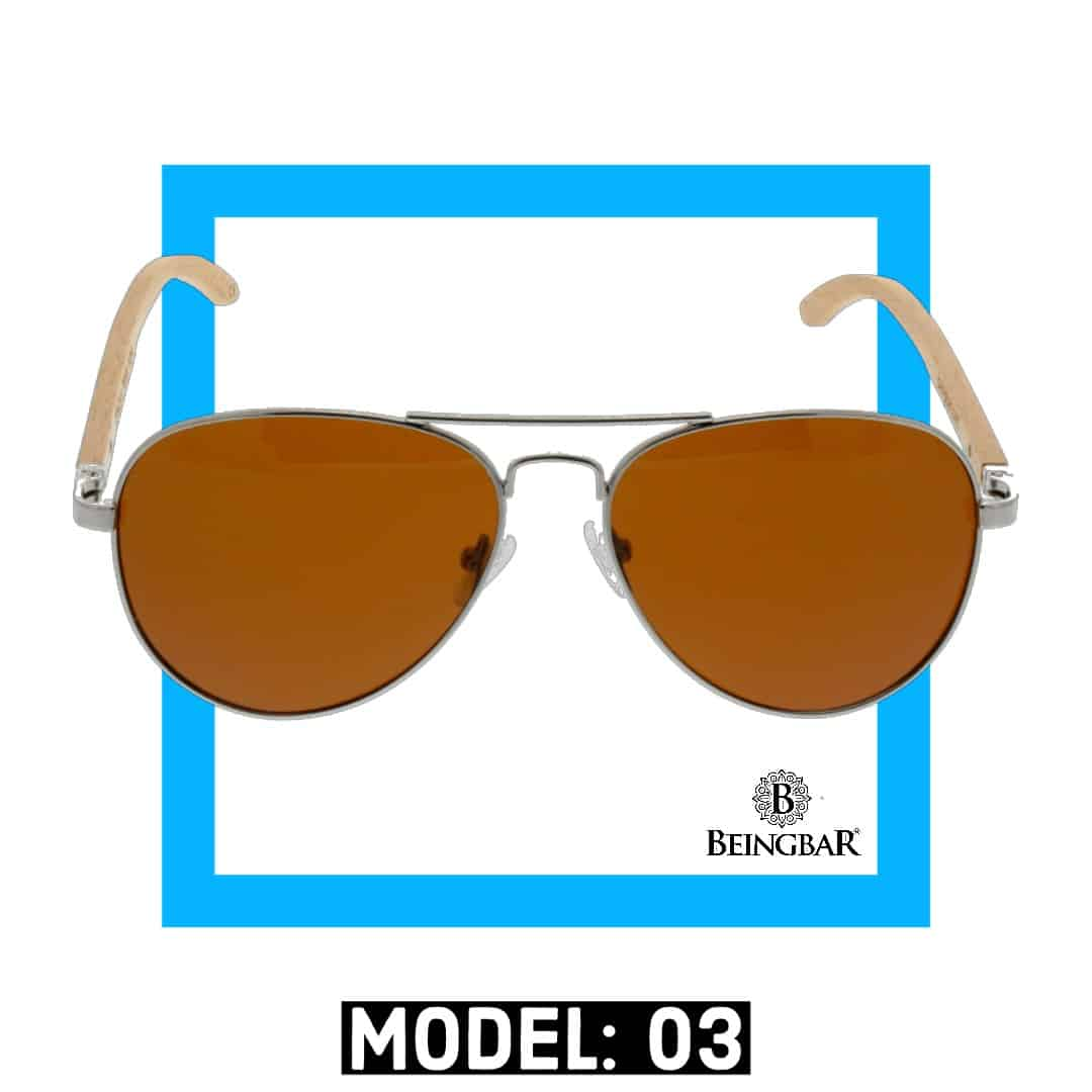 BEINGBAR Sun Eyewear Model 3 Conscious and Sustainable Sunglasses