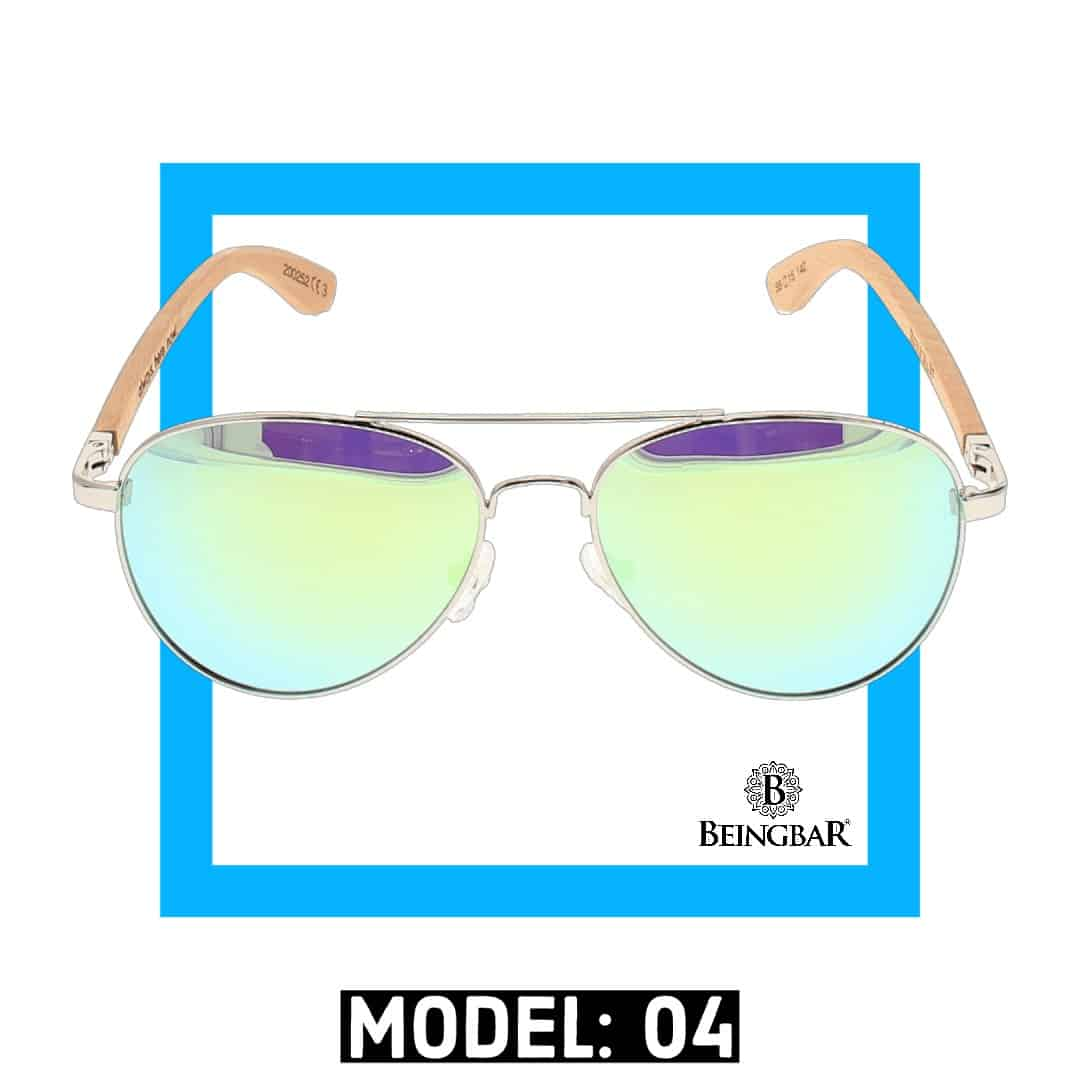 BEINGBAR Sun Eyewear Model 4 Sustainable and Conscious Sunglasses