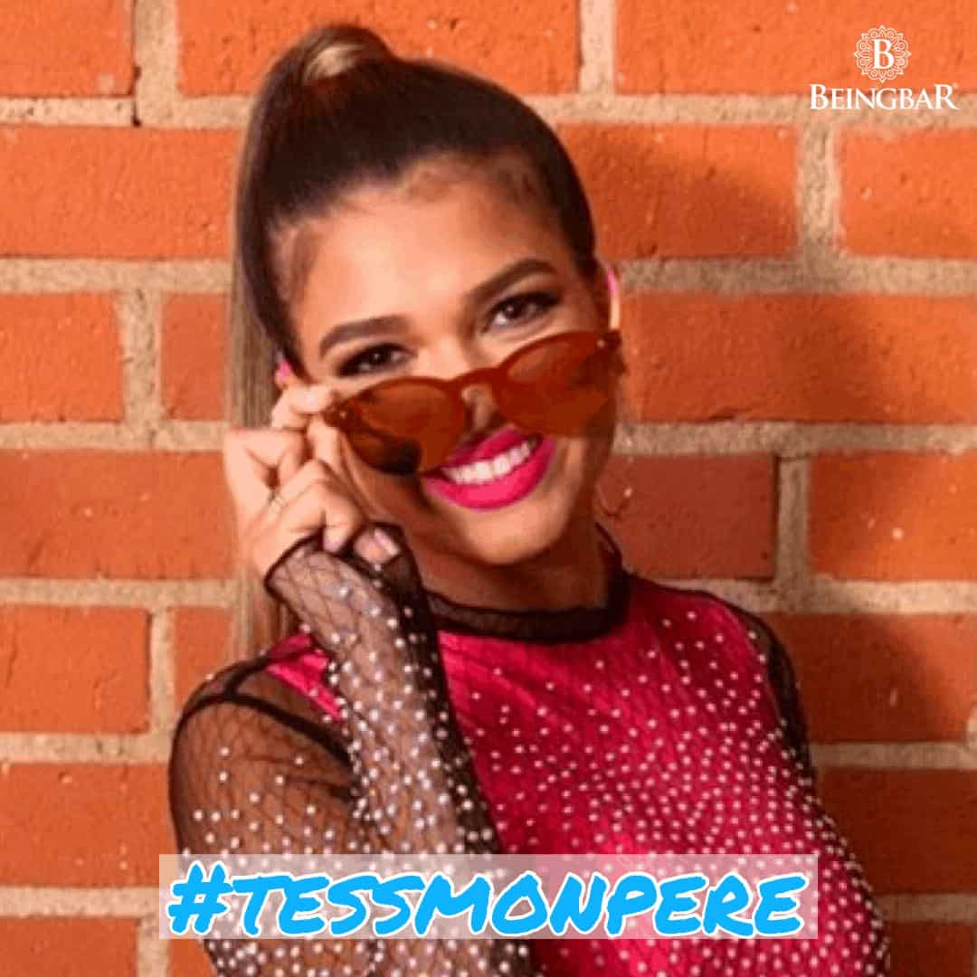 Tess Mon Pere wearing Beingbar Sunglasses