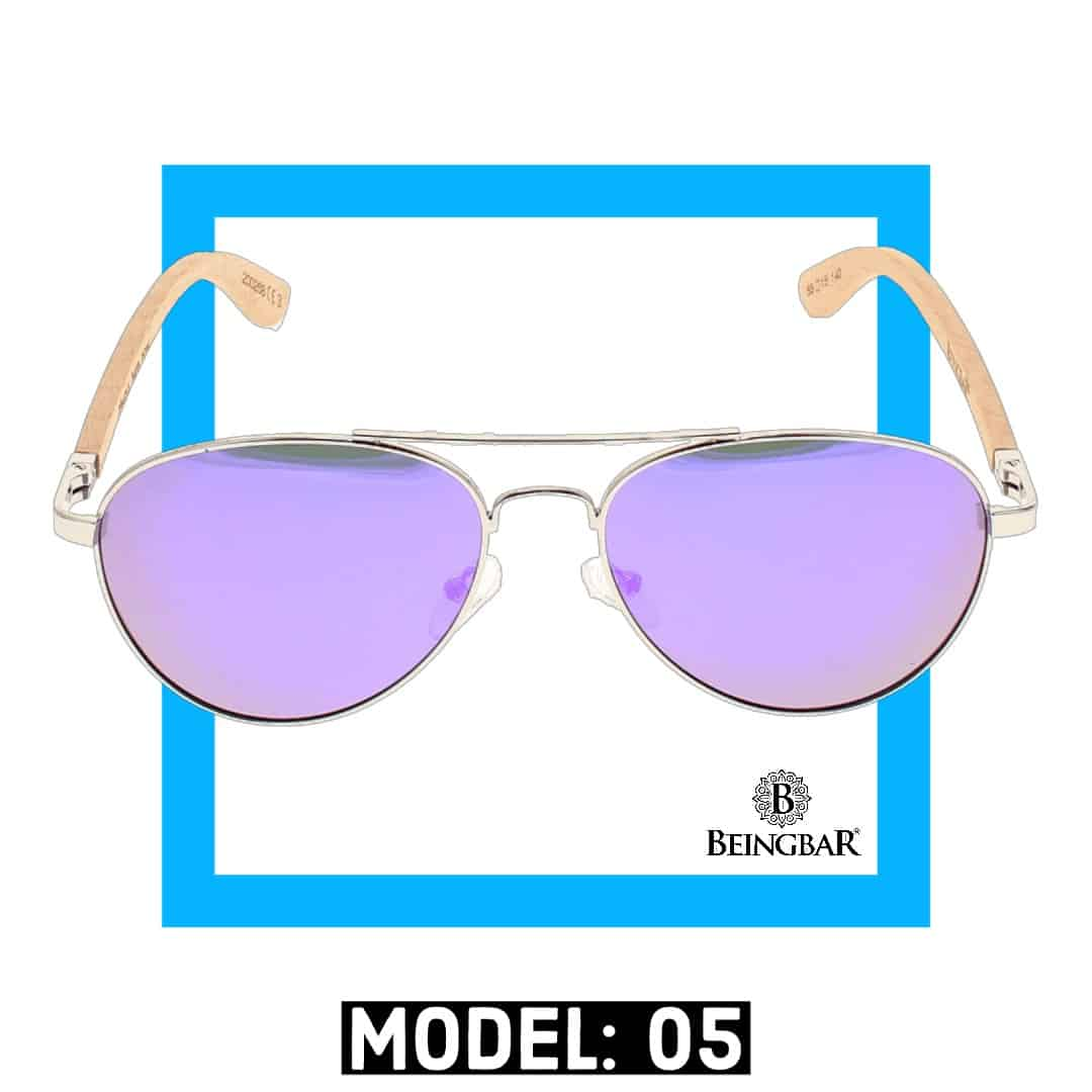 BEINGBAR Sun Eyewear Model 5 Sustainable and Conscious Sunglasses