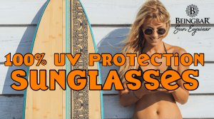 100% UV protection of Sunglasses, UV-400 and filter categories explained