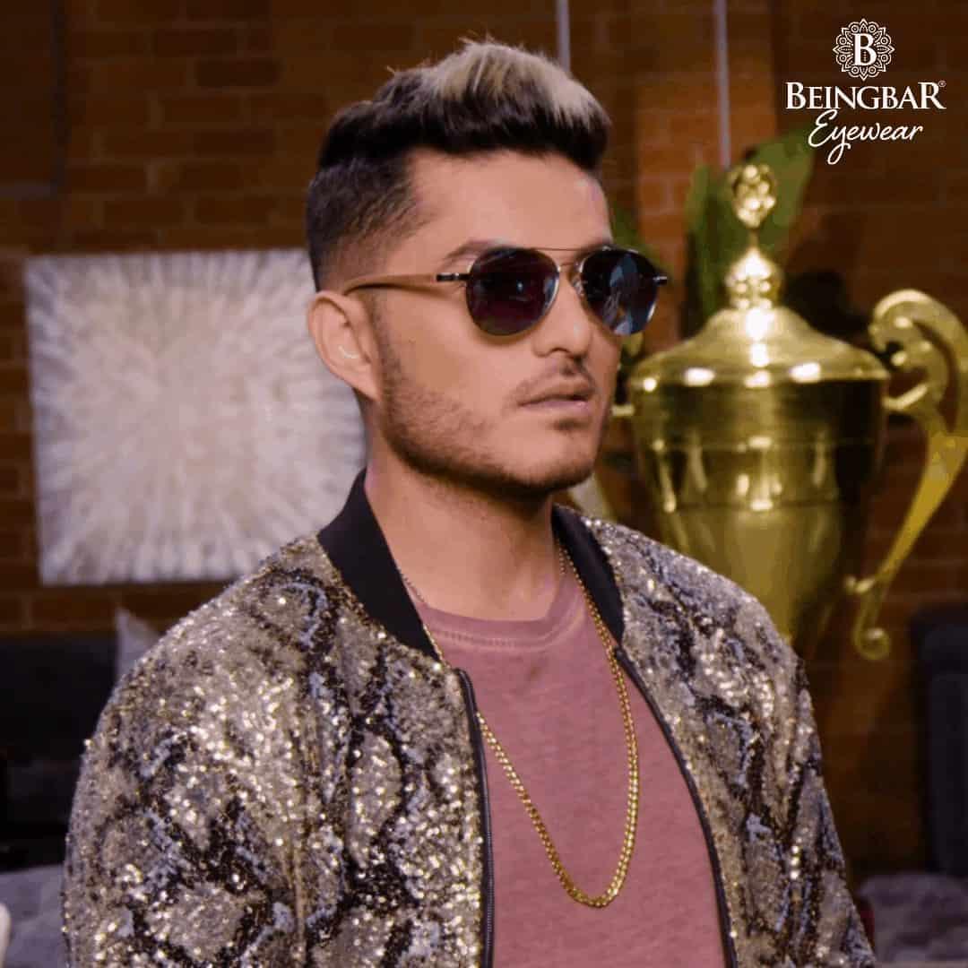 Juanse Quintero wearing BEINGBAR Eyewear
