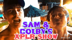 Sam and Colby in their XPLR show