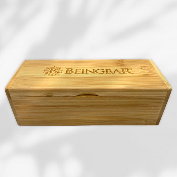 BEINGBAR Eco Eyewear Organic Bamboo Case shade