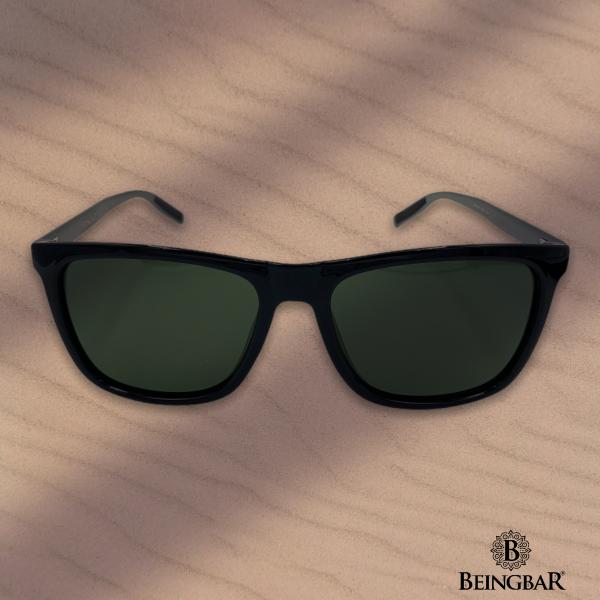 BEINGBAR Eyewear New Classic Sunglasses 400253-sand
