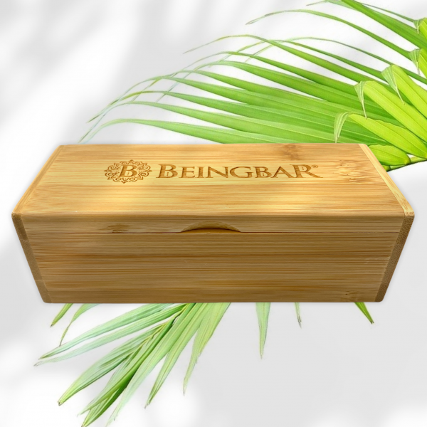 What is included with your BEINGBAR Eco Eyewear leaf